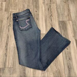 Rock & Republic Women's Roth Rhinestone Jeans